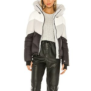 Multicolored Puffer Jacket